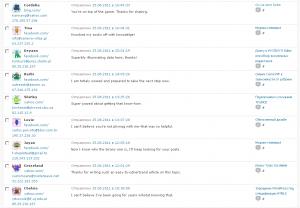 Скриншот о долбоебе спамере